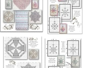A collection of 33 Blackwork Designs