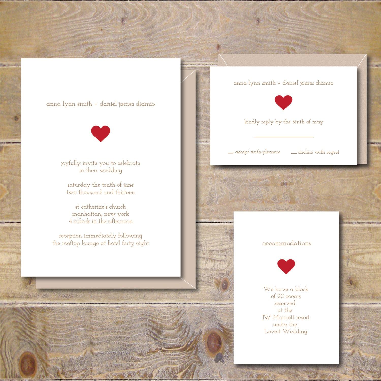 Druckbare Hochzeitseinladungen Hochzeitseinladung DIY