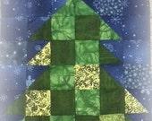 Block of The Month 2014 September's Block, Evergreen Tree PDF Pattern