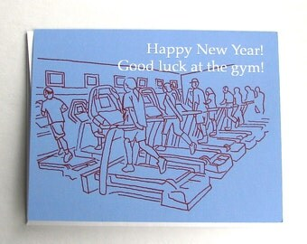 Good Luck at the Gym Card