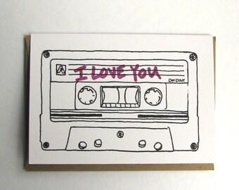 Mixtape Card