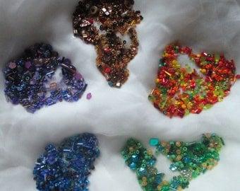 Bead Embellishment Kits for Felting