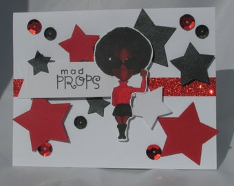 Mad Props Girlfriend Congratulations Greeting Card