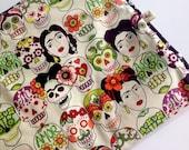 Frida Collection - Small Barking Dog Blanket/ Cat Blanket