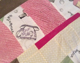 Corduroy Relax and Pamper Quilt