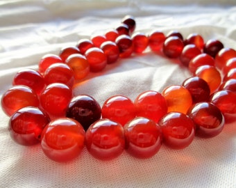 Red Agate 10mm Rounds Full Strand (Item Number 1256ck)