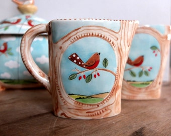 English Robin Jug - Ready to ship