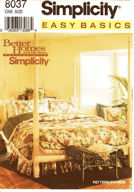 Https Www Etsy Com Listing 110055597 Simplicity Home Decor Pattern 8037 Easy