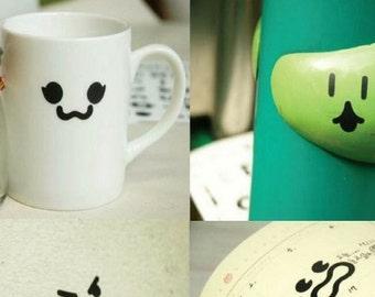Emoticon stickers - 3 sheets