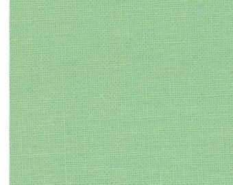 Bella Solids Bettys Green - 9900 121 (Moda) 1/2 yard Quilting Cotton Fabric