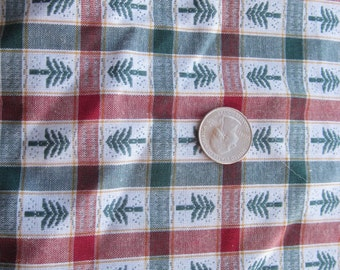 destash Christmas tablecloth or napkin fabric