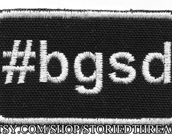 Kelly Sue DeConnick #bgsd Patch - Donation to Girls Leadership Institute