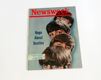 Newsweek February 24 1964 Bugs About The Beatles