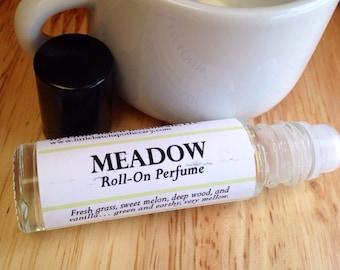 Perfume Oil - Meadow - Vegan - Roll On