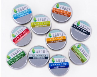 Aromi Solid Cologne Sample - Choose one sample!