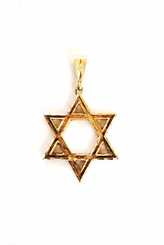 Vintage Star Of David 72