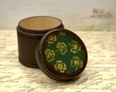 Four Leaf Clover Powder Box, Wooden Box,  Irish Gift Box, Ireland, Kelly Green, Clover, St. Patrick's day Gift, Wedding Ring Box, Celtic