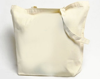 Large Heavyweight Canvas Tote Bag