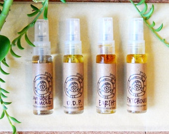 Organic Earth Perfume - Natural Aromatherapy