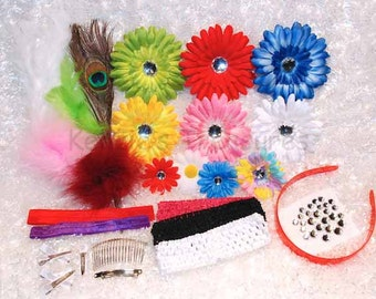 Create Your Own Hair Clip and Headband Starter Craft Kit