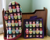 Russian Dolls Oven Mitt and Pot Holder