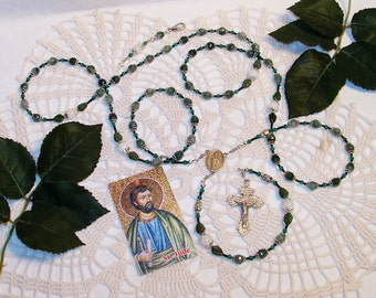 Saint Jude Catholic Rosary - Patron Saint of Desparate and Lost Causes