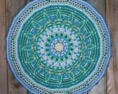 Crochet Overlay Mandala No. 7, Pattern PDF