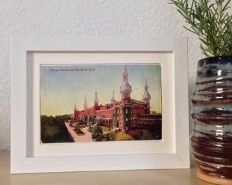 Tampa Bay Hotel, Tampa, Florida - framed vintage postcard