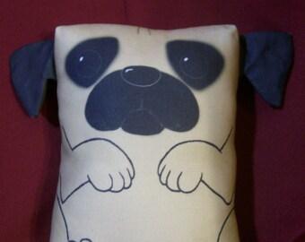 Pug Pillow Pal (large)