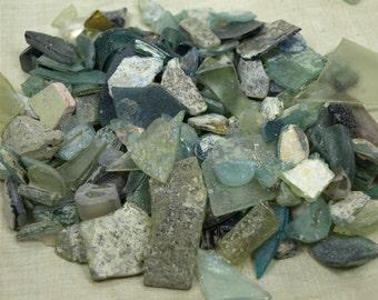 20 Gram Grab Bag of Ancient Roman Glass Bead, Pendants, Chips, Shards and More. GTB967