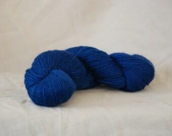 Alpaca yarn BLUE Fino Alpaca yarn 100gr / 3.5oz. Co.no. 49
