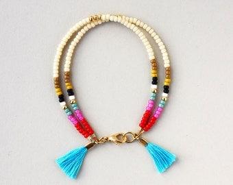 Friendship Bracelet, Best Friend Gift, Beaded Bracelet