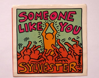 Keith Haring Album Art - Someone Like You by Sylvester