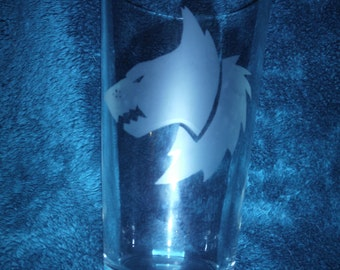Warhammer 40K Space Wolves Glass