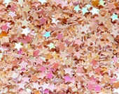 Fake Star Topping / Star Glitter / Star Sprinkle / Star Confetti / Star Sequin / Micro Star (AB Cream Beige / 3mm / 3g) Resin Jewelry SPK41