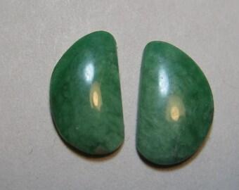 Varacite  ... earring pair  ... ....   Natural ... 12 x 7 x 1.9 mm       ..... B261