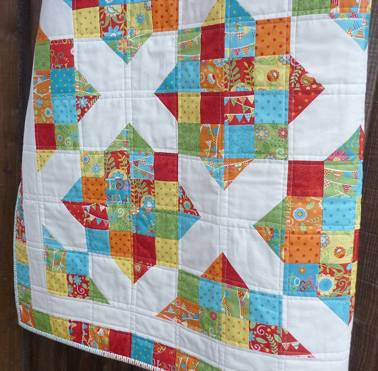 Quilt Pattern Jelly Roll Pattern Modern Quilt Pattern Easy