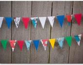 Dr. Seuss Mini Bunting - 9 feet - Choose from The Cat in the Hat or Green Eggs & Ham - Dr. Suess - Ready to ship