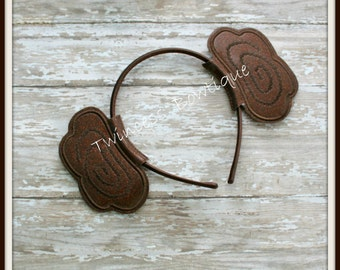 Princess Leia Buns Headband - Twincess Bowtique