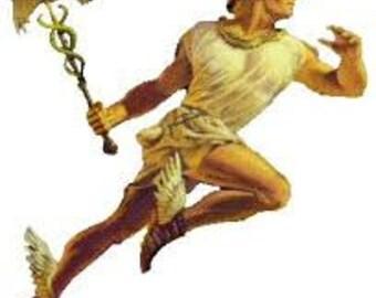 Hermes Oil Wicca Pagan Spirituality Religion Ceremonies Hoodoo Metaphysical MaidenMotherCrone