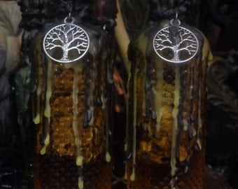 Happy Home Bottle Wicca Pagan Spirituality Religion Ceremonies Hoodoo Metaphysical MaidenMotherCrone