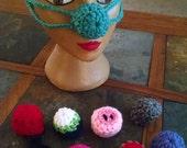 Crochet nose warmers