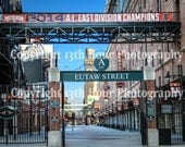 Baltimore Orioles Eutaw Street 2014 A.L. East Champions Fine Art Print