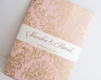 Wedding Invitation, Wedding Invite, Unique Invitation, Indian Invitation, Quinceanera Invitation, Pink Invitation, Pink Invite, SARAHIE -10