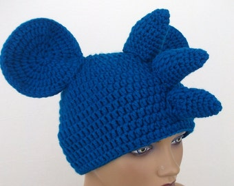 Crochet Itcy Hat-crochet  Itchy wig-Halloween Costume Ideas-night costumes