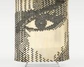 Eye Patterns - Shower Curtain