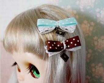 Blythe Love letter hair clip