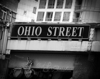 Chicago- Ohio Street on the River- Fine Art Photography