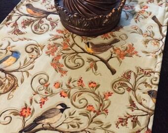 """Birds Table Runner 48"""""""