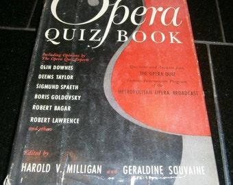 The Opera Quiz Book Q&A from Intermission Program of the Metropolitan Opera
